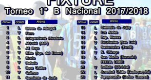 fixture 2017 2018 mas chico