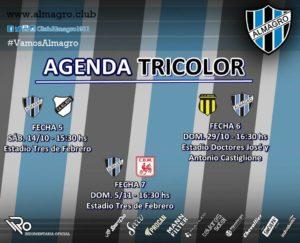 AGENDA TRICOLOR 1