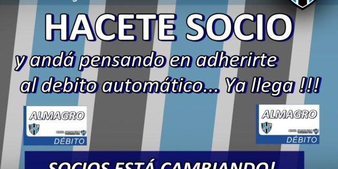 BANNER SOCIOS VIENE DEBITO AUTOMATICO