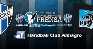 HANDBALL: AMISTOSO: Almagro – UNSAM