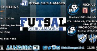Nueva jornada de Futsal