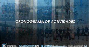 CRONOGRAMA DE ACTIVIDADES 24-8