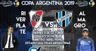 COPA ARGENTINA: ALMAGRO – RIVER