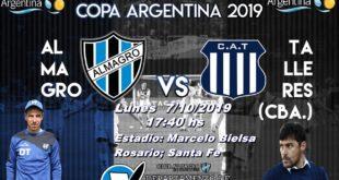 COPA ARGENTINA: LA PREVIA ALMAGRO – TALLERES